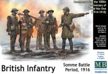 MB 35146 BRITISH INFANTRY.SOMME BATTLE 1:35