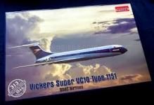 RODEN 313 VICKERS VC 10 SUPER TYPE 1151