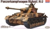 ACADEMY 13234 1:35 PZKPFW IV AUSF H TANK