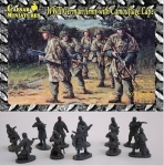 CAESAR HB4 1:72 WWII GERMAN ARMY W/CAMOUFLAGE CAPE (34)