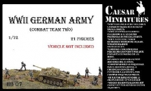CAESAR HB7 1:72 WWII GERMAN ARMY COMBAT TEAM TWO (21)