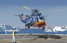 DRAGON 5111 1:72 S61A SEA KING ANTARCTICA OBSERVATION HELICOPTER