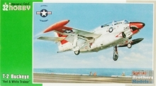 SPECIALHOBBY 32037 1:32 T 2 BUCKEYE RED & WHITE TRAINER AIRCRAFT