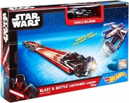 MATTEL CMM32 DISNEY STAR WARS BLAST & BATTLE LIGHTSABER LAUNCHER