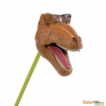 SAFARI 870080 BROWN T-REX (SNAPPERS)