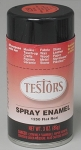 TESTORS 1250 SPRAY FLAT RED