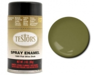 TESTORS 1265 SPRAY FLAT OLIVE DRAB