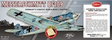 GUILLOW 401 ME BF 109 RUBBER GAS