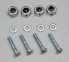 DUBRO 174 BOLT SETS LOCK NUTS 2-56 1-2