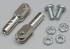 DUBRO 302 4-40 THREADED ROD ENDS