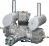 DLENGINES DLE-40 MOTOR BENCINERO 40.0 cc (2.45 cu in) Twin Gas Engine