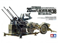 TAMIYA 35091 GERMAN FLAKVIERLING 1:35