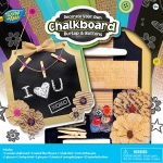 MASTERPIECES 21567 CHALKBOARD KIT – BURLAP & BUTTONS