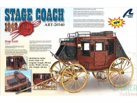LATINA 20340 MAQUETA EN MADERA: STAGE COACH 1848 HERITAGECOLLECTION