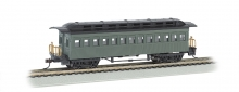 BACHMANN 13405 1860-1880 COACH PAINTED/UNLETTERED GREEN HO