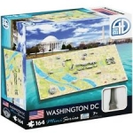 4DCITYSCAPE 70006 4D MINI WASHINGTON DC 164 PIEZAS