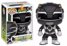 FUNKO 10309 MIGHTY MORPHIN POWER RANGERS BLACK RANGER POP! VINYL FIGURE