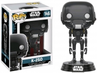 FUNKO 10454 STAR WARS ROGUE ONE K-2SO POP! VINYL BOBBLE HEAD JEDI
