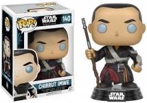 FUNKO 10455 STAR WARS ROGUE ONE CHIRRUT IMWE POP! VINYL BOBBLE HEAD JEDI