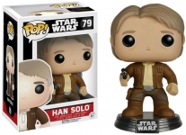 FUNKO 6584 STAR WARS: TFA HAN SOLO POP! VINYL BOBBLE HEAD JEDI