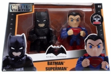 JADA 97524 METALS DIECAST BATMAN VS SUPERMAN TWIN PACK ALT