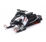 NEWRAY 57783A 1:16 POLARIS SWITCHBACK PRO-X 800 SNOWMOBILE (WHITE)