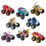 MATTEL DKV88 FISHER PRICE BLAZE SURTIDO DE VEHICULOS TRANSFORMABLES
