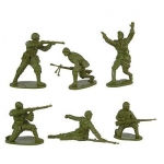 CLASSICTOY 136 1:32 WWII ROMANIAN INFANTRY (12)