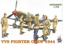 EDUARD 8509 1:48 VVS FIGHTER CREW 1944 (6) (PLASTIC KIT)