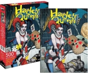 AQUARIUS 62107 DC COMICS HARLEY QUINN 500 PC PUZZLE VDGS