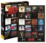 AQUARIUS 65251 AC/DC DISCOGRAPHY 1000 PC JIGSAW PUZZLE VDGS