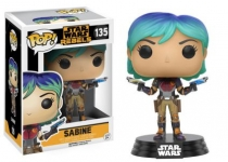 FUNKO 10773 POP! STAR WARS: / REBELS - SABINE JEDI