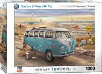 EUROGRAPHICS 6000-5310 LOVE & HOPE VW BUS