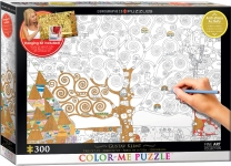 EUROGRAPHICS 6033-0921 TREE OF LIFE BY GUSTAV KLIMT 300 PIEZAS PUZZLE