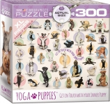 EUROGRAPHICS 8300-0992 YOGA PUPPIES 300 PIEZAS PUZZLE