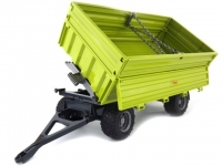 BRUDER 02203 FLIEGL THREE WAY TIPP. TRAILER WITH REMOVABLE TOP
