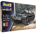 REVELL 03304 T 55 A/AM 1:72