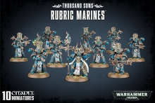 WARHAMMER 99120102063 THOUSAND SONS RUBRIC MARINES