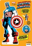 AQUARIUS 11521 MARVEL- CAPTAIN AMERICA DESKTOP STANDEE