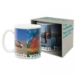 AQUARIUS 47046 PINK FLOYD WISH BOXED MUG TAZON