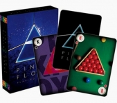 AQUARIUS 52163 PINK FLOYD DARK SIDE OF THE MOON PLAYING CARD DECK