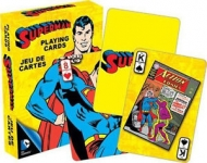 AQUARIUS 52295 DC COMICS- RETRO SUPERMAN PLAYING CARDS DECK