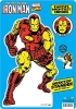 AQUARIUS 11522 MARVEL- IRON MAN DESKTOP STANDEE