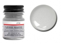 MODELMASTER 271407 (*) MM ENAMEL GERMAN SILVER METALLIC 14.7ML