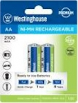 WESTINGHOUSE NH-AA2100ARBP2 PILA AA 2100MAH RECHARGABLE, BLISTER OF 2