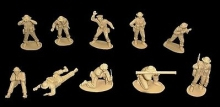 CLASSICTOY 118 1:32 WWII BRITISH INFANTRY SUPPORT (18)
