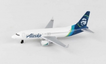 REALTOY RT3994 ALASKA AIRLINES B737 (5PULG WINGSPAN) (DIE CAST)