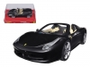 HOT WHEELS BLY65 1:24 FERRARI 458 SPIDER
