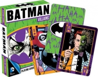 AQUARIUS 52265 DC COMICS- BATMAN VILLIANS PLAYING CARDS DECK