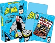 AQUARIUS 52294 DC COMICS- RETRO BATMAN PLAYING CARDS DECK